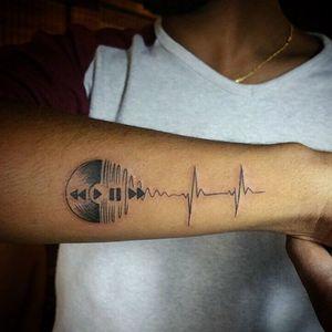 #musictattoo