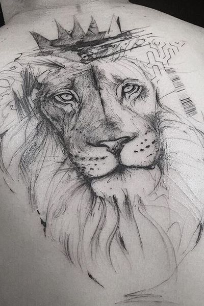 #liontattoo #lion #newyorkcity #animals
