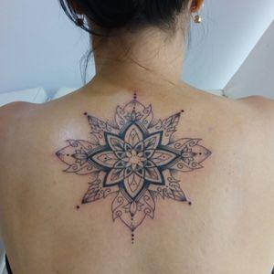 Mandala #tattoo #tattoos #tatuagensfemininas #tatuagensdelicadas #tattoomandala #lovetattoo