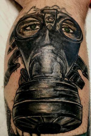 #gasmask #coverup #reconstruction #tattooartist