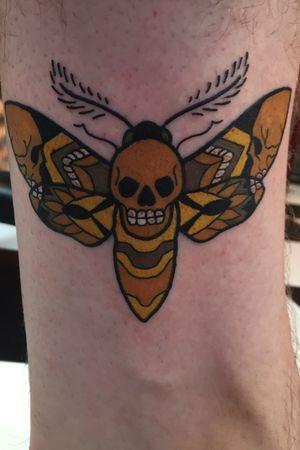 Death Moth #deathmoth #neotraditional