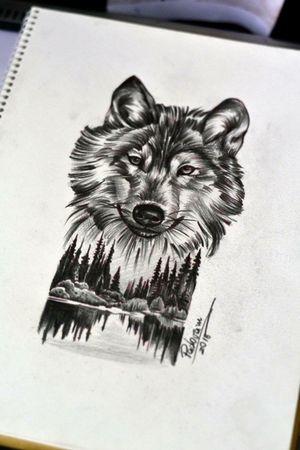 #wolf #tattoosketch