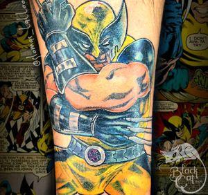 #wolverine #wolverinetattoo #Marvel #marveltattoo #colour