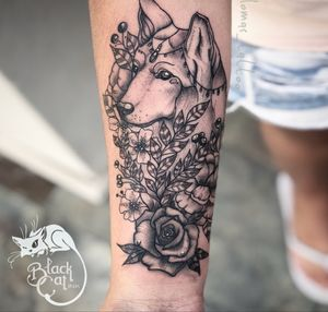 • Wolf • #wolftattoo #wolf #wolfhead