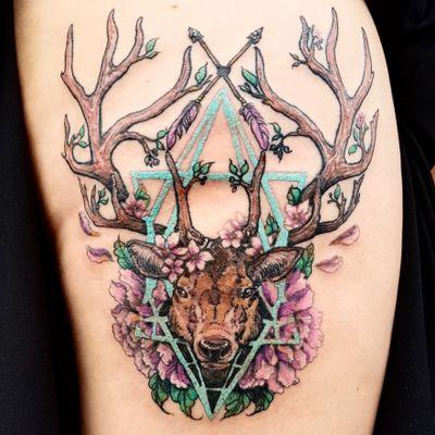 #deer #stag #deertattoo