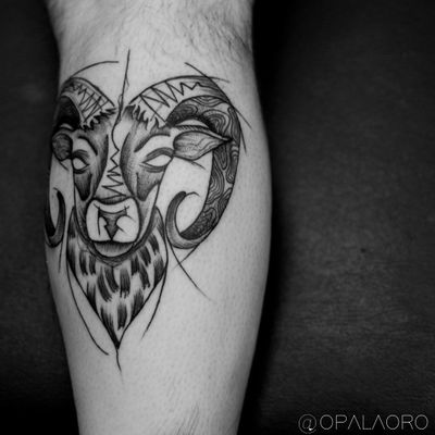 #goat #lamb #horn #ram #bode #blackwork #onlyblack #blackink #brasil #brazil #cwb #sketch #sketchstyle #black #dark