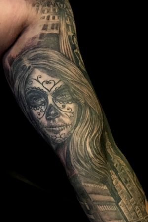 (Inside arm )Part 4 Mob Sleeve freehand done. #cultart #nijverdal #netherlands #cultartshop #mobtattoo #tattoogj #aaltinktattoo #zwolle #dutch
