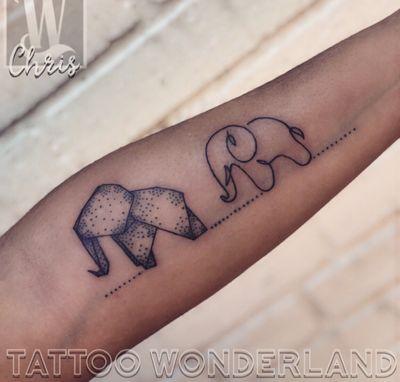 #origamitattoo #onelinetattoo @danleytattoos @tattoowonderland #youbelongattattoowonderland #tattoowonderland #brooklyn #brooklyntattooshop #bensonhurst #midwood #gravesend #newyork #newyorkcity #nyc #tattooshop #tattoostudio #tattooparlor #tattooparlour #customtattoo #brooklyntattooartist #tattoo #tattoos #origamiart #origamielephant #origami #singlelinetattoo #elephanttattoo #elephant All rights reserved. ©