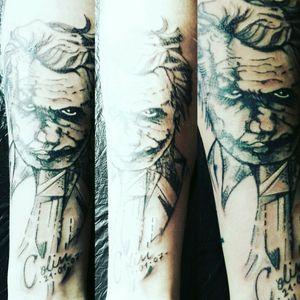 #joker #Badman #sketch #lines #realismus #mashup #mix #germantattooers #frau #inkgirl#inked #follower#follow Ich habe mir die Bücher angesehen #intenzpride #inked #tattooedwoman #tattooedgirl #tattooed#tattoist #intenzpride #intenzink #instatattoo #germantattooers #frau#inkgirl #hellotattoomed #suprasorb #bullet #blackgrey #cheyenehawk #eternal#dreamtattoo #eternal#dreamtattoo