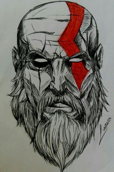 #kratos #godofwar #god #playstation #gow