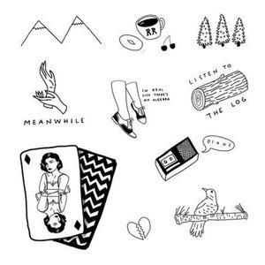 Twin peaks drawings - tattoo ideas