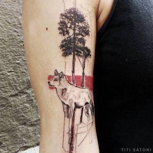Wolf With @milky293603 Done at @1928tattoo . . . . #titisatori_tattoo #tattrx #tattoo #tattoosketch #barcelonatattoo #artofblack #QTTR #finelinetattoo #ink #lovettt #qpocttt #Wolf #lineworktattoo #tattoocanarias #darktattoo #freelove #londontattoos #tattrx #wolftattoo #blkttt #contemporarytattooing #inked #ttt #tttism #berntattoo #txttoo #skindeep #blxckink #berlintattoo #singleneedle