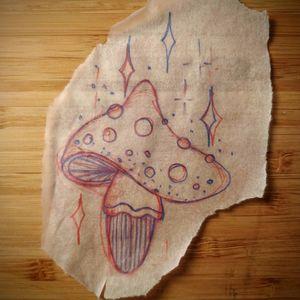 Avaliable wannado traditional old school flash mushroom sci-fi space