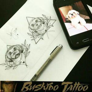 """Da Menor a Maior Gratidão em Fazer Parte de Cada História e Cada Homenagem envolvida em Nossas Tatuagens... Especialista em Tatuagens Delicadas, Tatuagens Femininas Traços Finos/FineLine Escristas/Caligraphy - Desenho de Homenagem ao Filho de 4 Patas Tattoo e Desenho Por, @araninchaves em @bushidotattoobr . Line Work - Fine Line/Linha Fina - Traços Finos - Tatuagem de Cachorrinho Feito Por Referência de Foto Amor Pelo Filho de Quatro Patas...."""" """"😷✍🙏🤗🐶🐶💗 Obg Pela Confiança em Nosso Trabalho...@99leos Leonardo Silva . Quer uma Arte Exclusiva Chama No Whatsapp do Estúdio 👇👇 Agendamento&Orçamentos Somente Pelo Whatsapp do Estúdio 📲 +5517991218074... . """"Tatuagem Também é Cultura, Amor & Art."""" . 🇧🇷BUSHIDO TATTOO 🇧🇷 #bushidotattoobr #PorUmAmorAnimal #AraninChaves #tatuadora #tattoo #tattoos #tattooed #tatuagem #riopreto #sjrp #sjriopreto #tattooriopreto #riopretotattoo #saojosedoriopreto #tatoo #Tattooja #Tattoo2me #instatattoos #linework #Tattoodo #Dreamstatto #TatuagensFemininas #FineLine #tattoosocial #Tattooinspbr #tatuagemdelicada #linhafina #tatuagemfeminina #Lovepets #love . 🏯 BUSHIDO TATTOO 🏯 São José do Rio Preto-SP R: Dr Luiz Américo de Freitas n° 504 Sala3 Bairro: Vila Ercília Whats: 📲 +55 17 991218074 . 👉Curta 👉Like Nossa Pagina no Face... 💻 facebook.com/bushidotattoobr 👉Follow 👉Siga 👉Instagram.... 📷 instagram.com/bushidotattoobr"""
