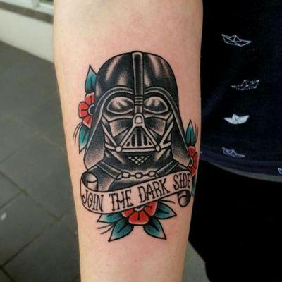 Amazing Darth Vader Sugar Tattoo #starwarstattoo #sugarskulltattoo #darthvader Follow Me Please😚