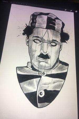 #blackartist #sketchtattoo