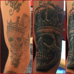 Cover up done today