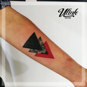 #geometrictattoo #geometry #triangletattoo