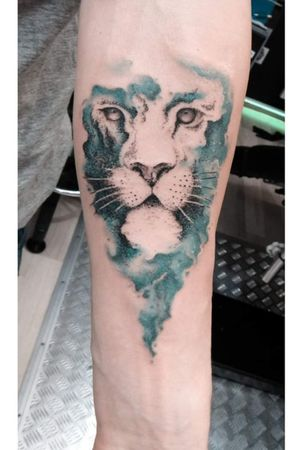 #lion #liontattoo #watercolor #tattoo