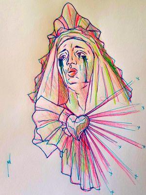 #ladytattooers #ladyofsorrows #pinkwork #tattoomodel #tattoing #tattooers #tattoodo #tatt #tattooing #tattoostudio #tattooed #tattos #tattoo #tatto #tatted #tattooist #tattooartwork #tatts #tattoolife #tattooer #tattoos #sketchtattoo #sketchbook #sketch #art #artwork #artsy #tattooartworldwide #green #blue #queen #crying #hearttattoo #heart #hearts