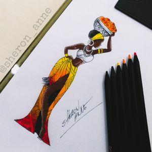 #africana #africanwoman #tattoodrawing #tattoodraw #womantattooist #womantattooartist #braziliantattooartist #sheronanne #sheronannetattoo #Curitiba #Florianópolis #RiodeJaneiro #Brasil