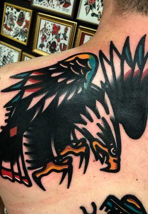 Huge bold eagle!