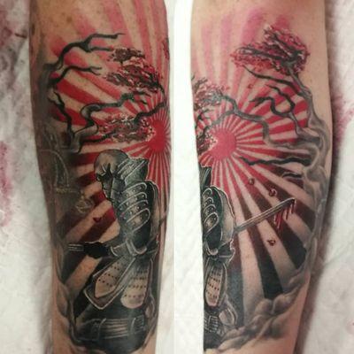 #samuraitattoo #samurai