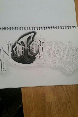 Trying to create my own font so far progress #blackandgray #tattoo #tattoos #tattooartist #colourtattoo #pencilart #pencildrawing