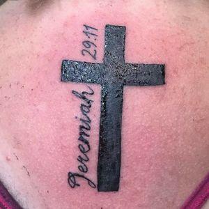 #scripttattoo #bibleverse #crosstattoo