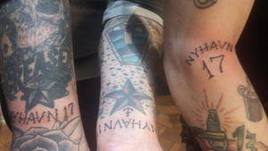 Nyhavn 17 tattoo in honor of Tattoo Ole #TattooOle #Denmark