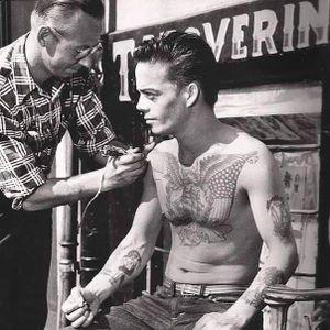 Getting tattooed at Tattoo Ole in Denmark #TattooOle #Denmark