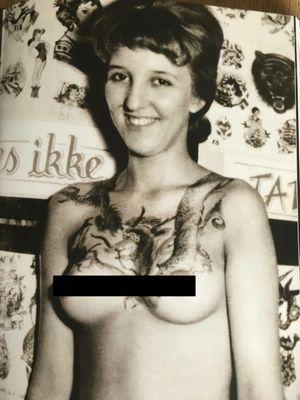Vintage tattoo from Tattoo Ole #TattooOle #Denmark