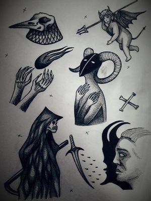 #blackworktattoo #tattooart #flashart #ink #Black