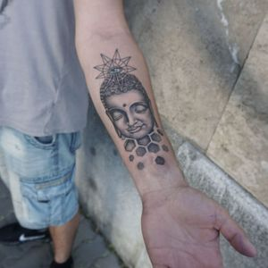 Buddha by :Doresz #tattooartist #buddhatattoo #budapesttattoo