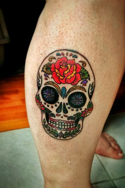 #skull #mexican #mexicanskull #skulltattoo #artwork #design #tattooideas #tattoodesign #diasdelosmuerte #dayofthedead