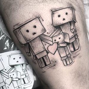 Family #dotwork #tattoos #featured #blackwork