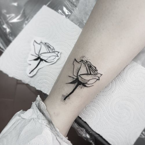 Small and simple tattoo.