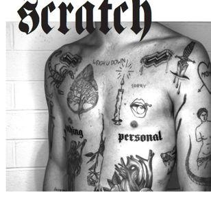 Scratch #NinaChwelos #Scratch #tattooartists