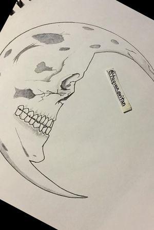 #skullmorph #moontattoos #morphing #skull