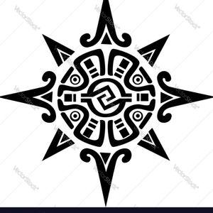 Mayan sun #mayan #sun #sacredgeometry