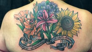 AFTER!!! 5 hrs to complete #neotraditional #newschool #philly #philadelphia #color #BoldTattoos #coverup #coveruptattoo