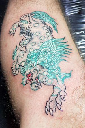 Snowlion tattoo Hanoi Vietnam