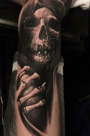 Freehand reaper