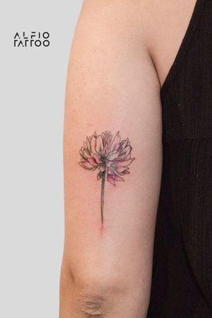 Design and tattoo by Alfio! #design #designtattoo #dinamicink #tattoocolor #buenosaires #argentina #Flortrebol #colortattoo