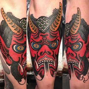 By @DestroyerMahashakti at #InfamousStudio #sweden #tattooartist #traditional #stockholm #