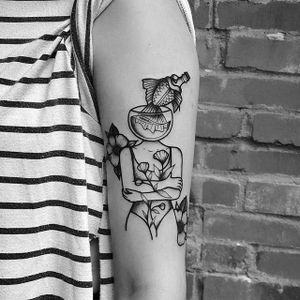 Tattoo by tatouage electric ave