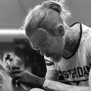 Liam Ryan tattooing #LiamRyan #MotorinkFinestTattooing #Amsterdam