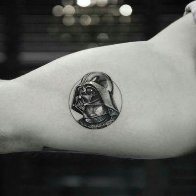 Cool Darth Vader Tattoo #starwarstattoo #starwars #darthvader
