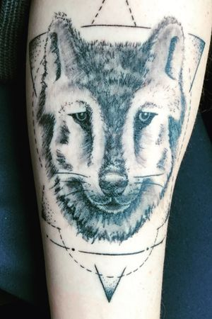 #tattoowolf #wolf