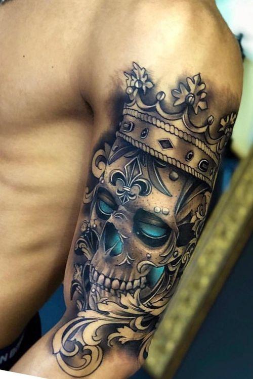 #beautiful #king #skeleton